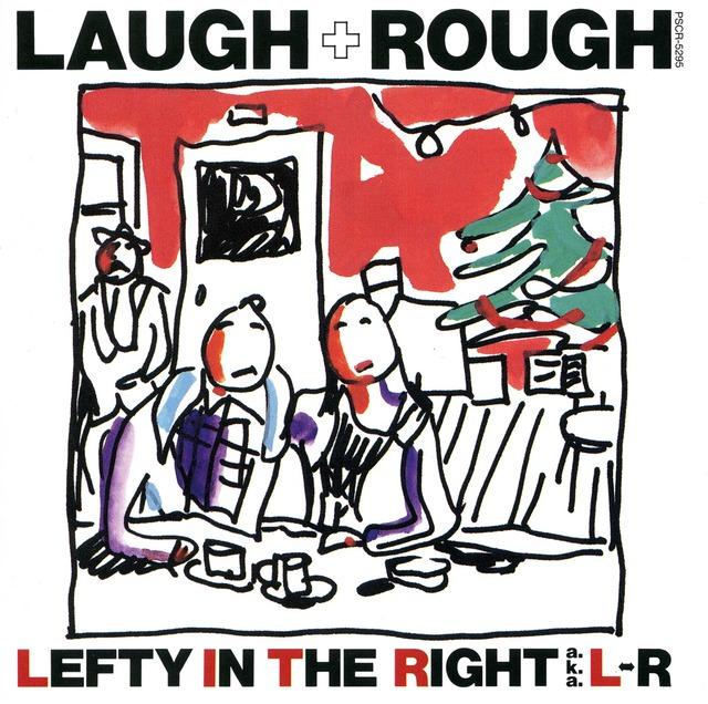 L⇔R「LAUGH+ROUGH」ジャケット