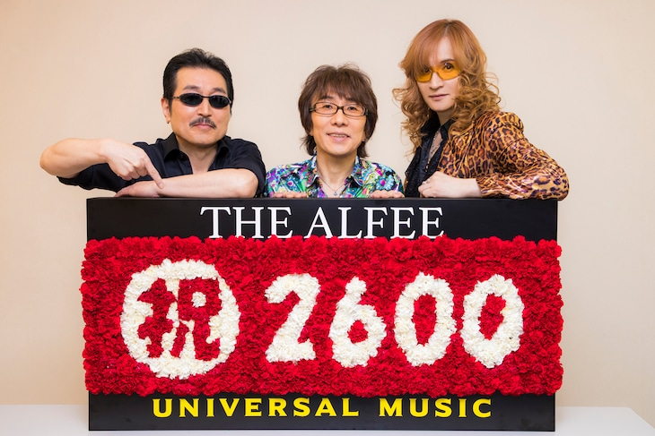 THE ALFEE(Photo by CHIE KATO[CAPS])