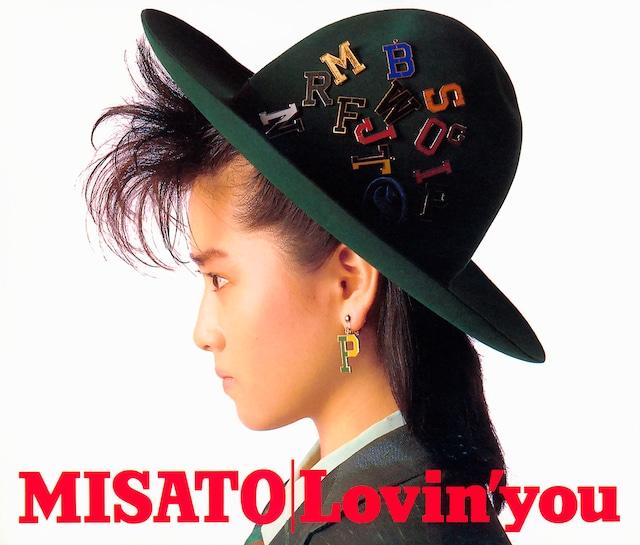 渡辺美里「Lovin' you -30th Anniversary Edition-」ジャケット