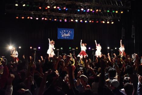 「TOWER RECORDS×CLUB CITTA' presents lyrical schoolスペシャルライブ」の様子。
