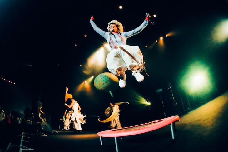 12月7日の中野サンプラザホール公演の様子。(撮影:横山マサト)