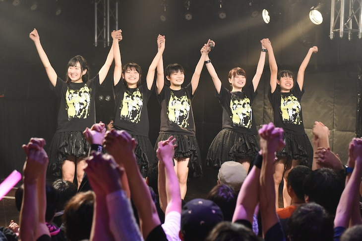 Party Rockets GT単独公演「~Have a nice party~」の様子。