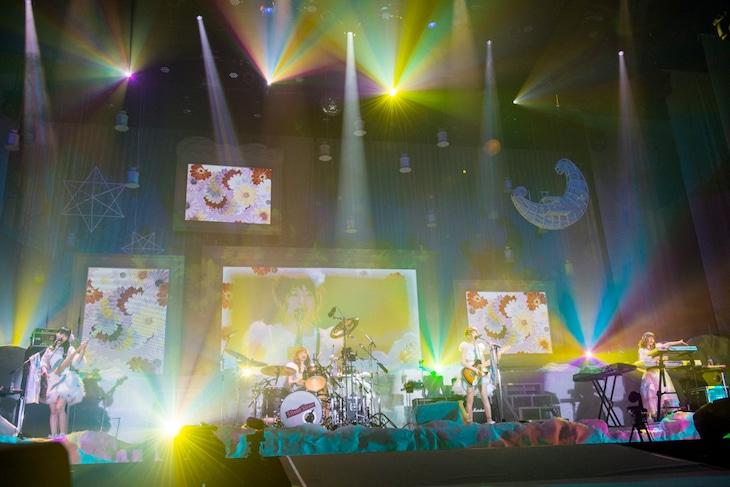 SILENT SIREN「2016年末スペシャルライブ Dream on!」東京・東京体育館公演の様子。 (Photo by Satoshi Hata)