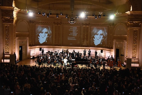 「YOSHIKI CLASSICAL SPECIAL feat. Tokyo Philharmonic Orchestra」の様子。