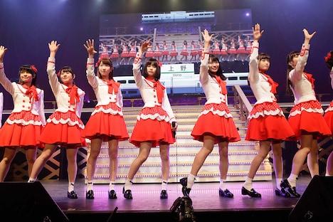 NGT48「NGT48 1周年記念コンサートin TDC ~Maxときめかせちゃっていいですか?~」東京・TOKYO DOME CITY HALL公演の様子。(c)AKS