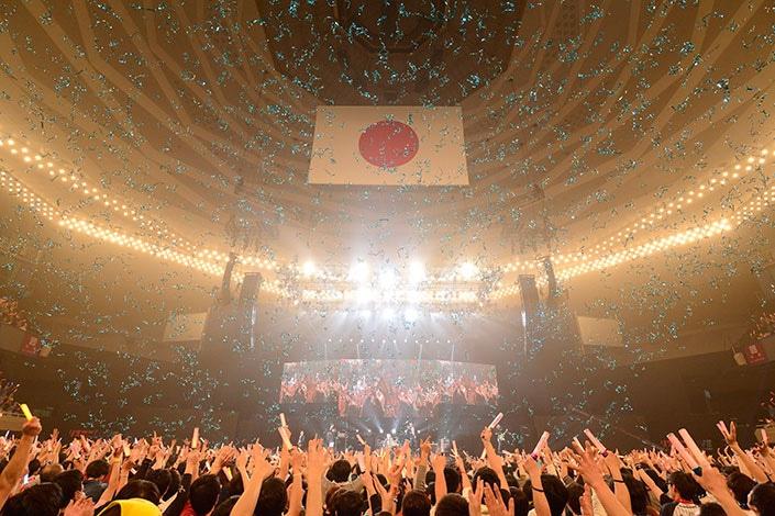 「リスアニ!LIVE 2017」の様子。