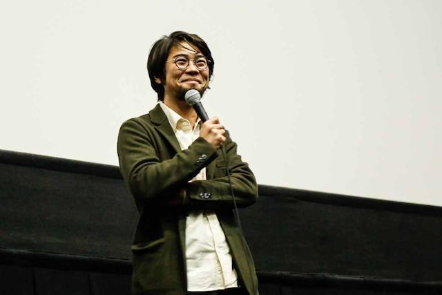 草野翔吾監督(撮影:石崎祥子)
