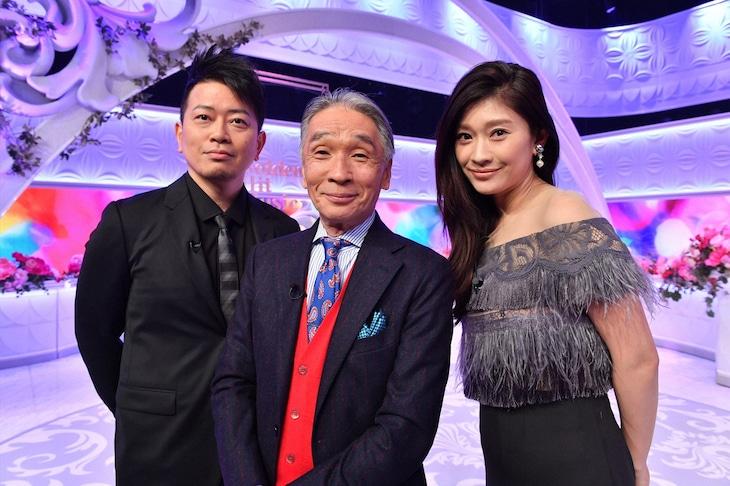 左から宮迫博之、堺正章、篠原涼子。 (c)TBS
