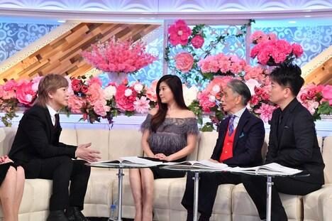 左から小室哲哉、篠原涼子、堺正章、宮迫博之。 (c)TBS