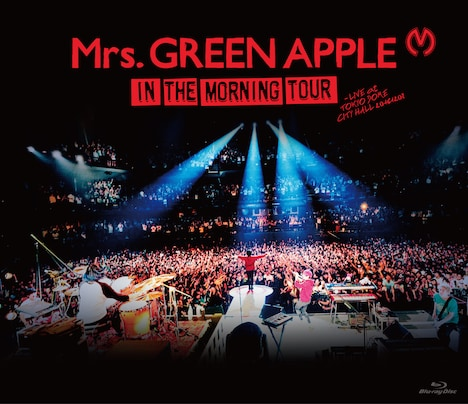Mrs. GREEN APPLE「In the Morning Tour - LIVE at TOKYO DOME CITY HALL 20161208」Blu-rayジャケット