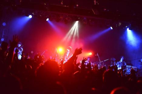BIGMAMA「THE BEGINNING 2007.02.10」の様子。(Photo by AZUSA TAKADA)