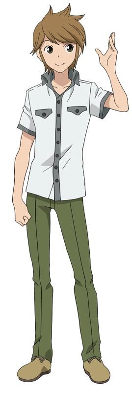 河西健吾が演じる伴俊作のキャラクターイラスト。