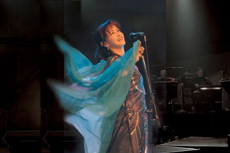 「中島みゆきLIVE&PV『歌姫 劇場版』」キービジュアル (c)Yamaha Music Publishing, Inc.
