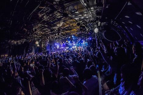 「MELODIC COASTER 2017」東京公演の様子。(Photo by HayachiN)
