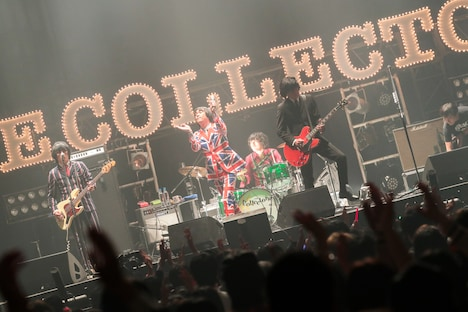 "THE COLLECTORS「THE COLLECTORS ""MARCH OF THE MODS"" 30th Anniversary」の様子。(撮影:柴田恵理)"