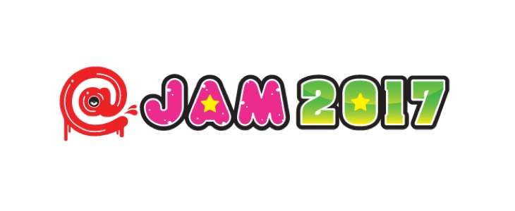 「@JAM 2017」ロゴ