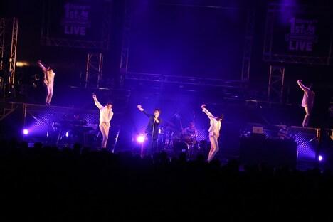 三浦大知「AbemaTV 1st ANNIVERSARY LIVE」の様子。(撮影:佐藤友昭)