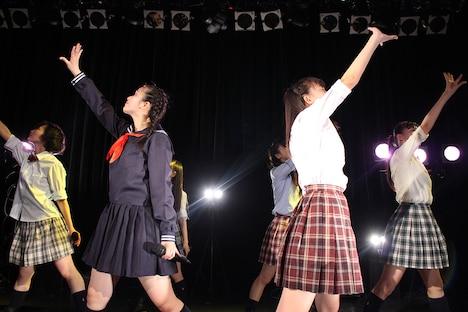 桜エビ~ず ワンマンライブ 東京・WWW公演第1部の様子。(写真提供:スターダストプロモーション)