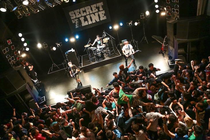 SECRET 7 LINE「TENDER HOMEWARD TOUR」東京・TSUTAYA O-WEST公演の様子。(Photo by watanabe'kool'syo)