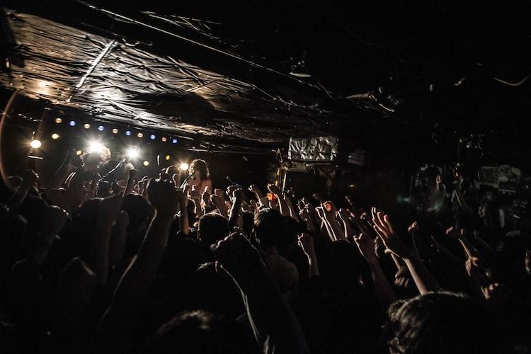 WOMCADOLE「俺らは生きているんだツアー 追加公演」の様子。(撮影:ハライタチ)