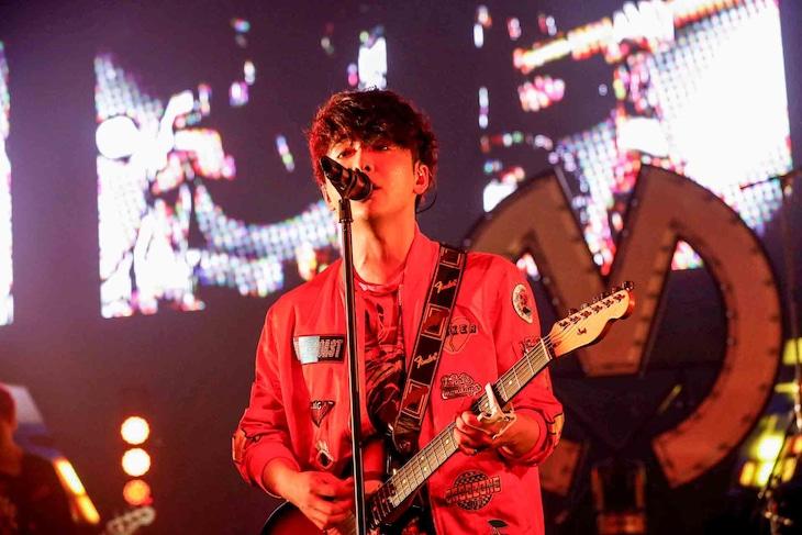 大森元貴(Vo, G)(Photo by Hajime Kamiiisaka)