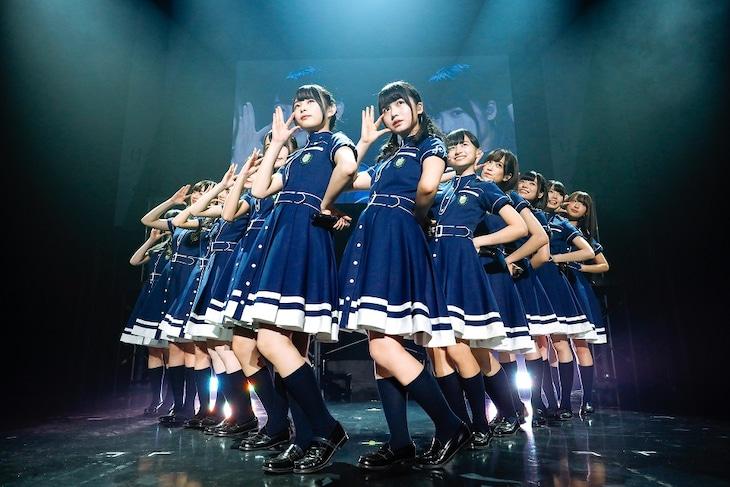 けやき坂46「ひらがなけやき全国ツアー2017」大阪・Zepp Namba公演の様子。