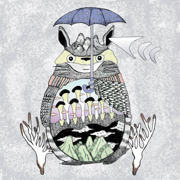 Serph「Totoro Requiem」配信ジャケット