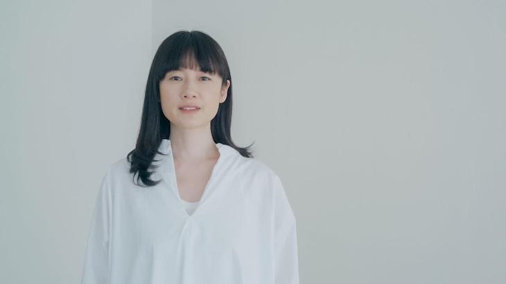 原田知世「時をかける少女」ミュージックビデオのワンシーン。