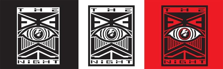 「THE EYEWALL NiGHT vol.1」ロゴ