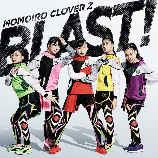 ももいろクローバーZ「BLAST!」通常盤ジャケット
