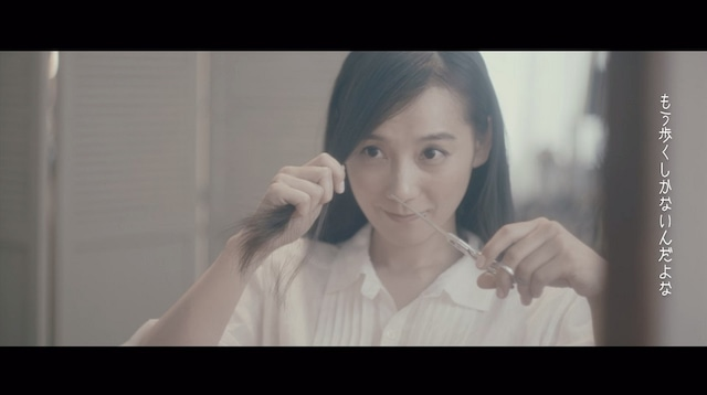 CIVILIAN「顔」MVのワンシーン。