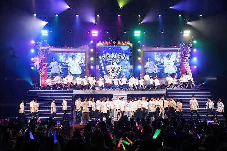 「EBiDAN THE LIVE 2017 ~Summer Party~」の様子。