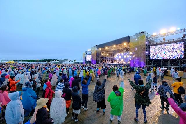 「RISING SUN ROCK FESTIVAL 2017 in EZO」の様子。 (c)RISING SUN ROCK FESTIVAL(撮影:n-foto RSR team)