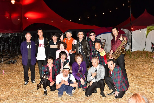 「FRIDAY NIGHT SESSION」の出演アーティスト。(c)RISING SUN ROCK FESTIVAL(撮影:小川舞)
