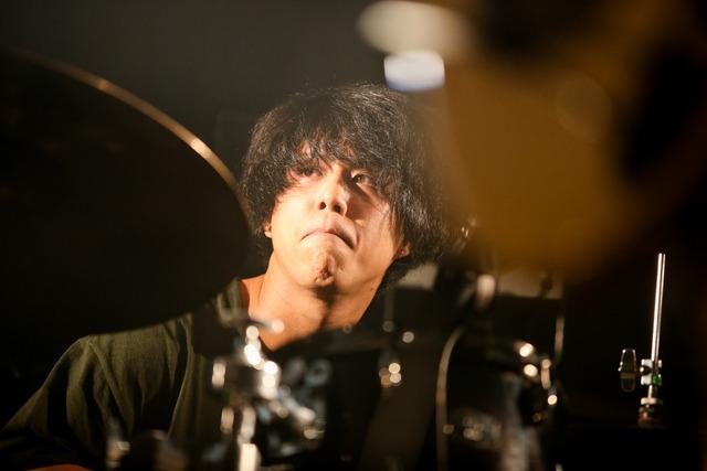 田代創大(Dr, Cho / KOTORI)(Photo by Viola Kam [V'z Twinkle])
