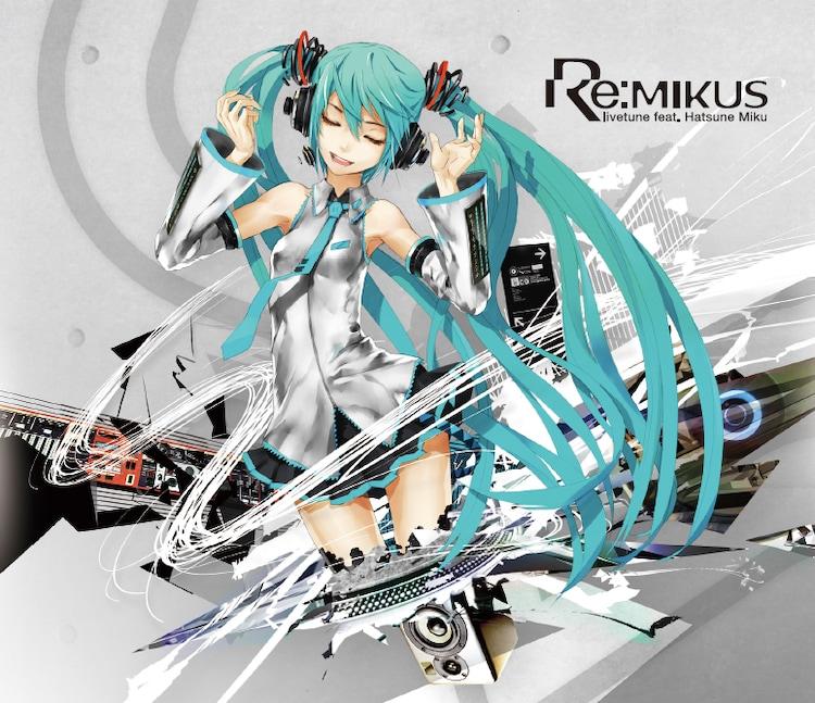 livetune feat. 初音ミク「Re:MIKUS」ジャケット