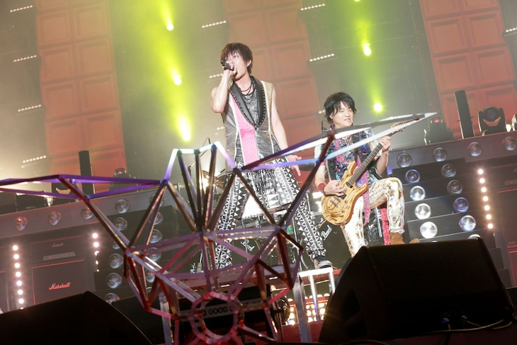 GRANRODEO「G11 ROCK☆SHOW -TRECAN PARTY」の様子。