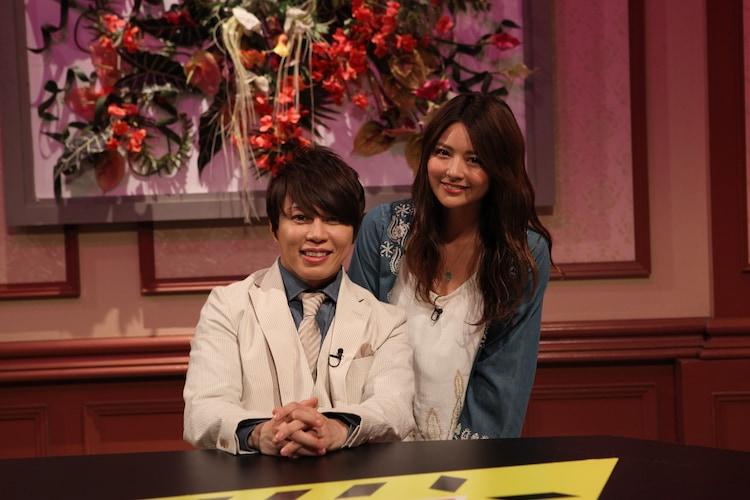 西川貴教(左)とMiyuu(右)。(写真提供:音組)