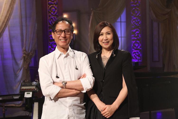 武部聡志(左)と高橋洋子(右)。(写真提供:音組)