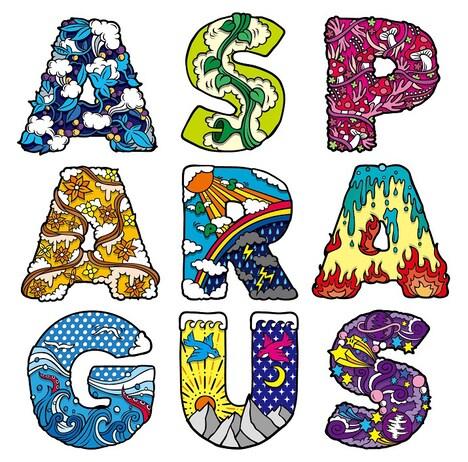 ASPARAGUS「ASPARAGUS」ジャケット