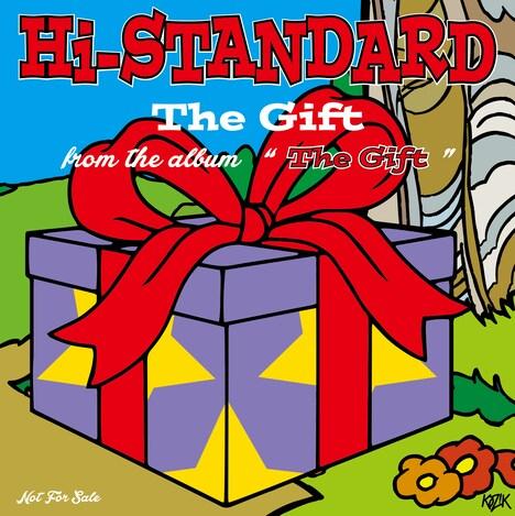 Hi-STANDARD「The Gift CD」ジャケット表面
