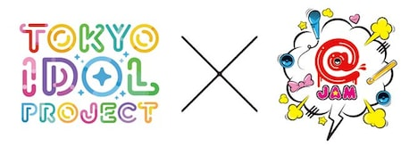 「TOKYO IDOL PROJECT×@JAM」ロゴ