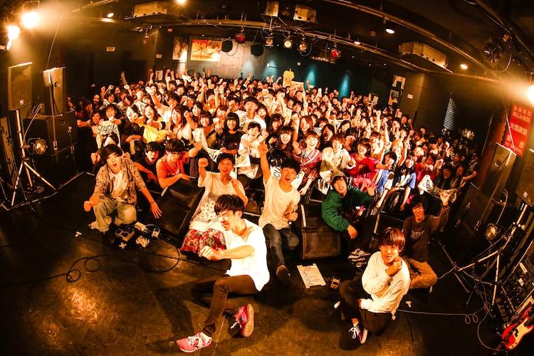 Saucy Dog「カントリーロード RELEASE TOUR FINAL SERIES『ずっと ~東名阪対バンツアー~』」最終公演の様子。(Photo by Shiraishi Tatsuya)