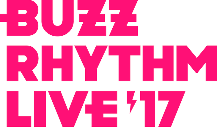 「バズリズムLIVE 2017」ロゴ