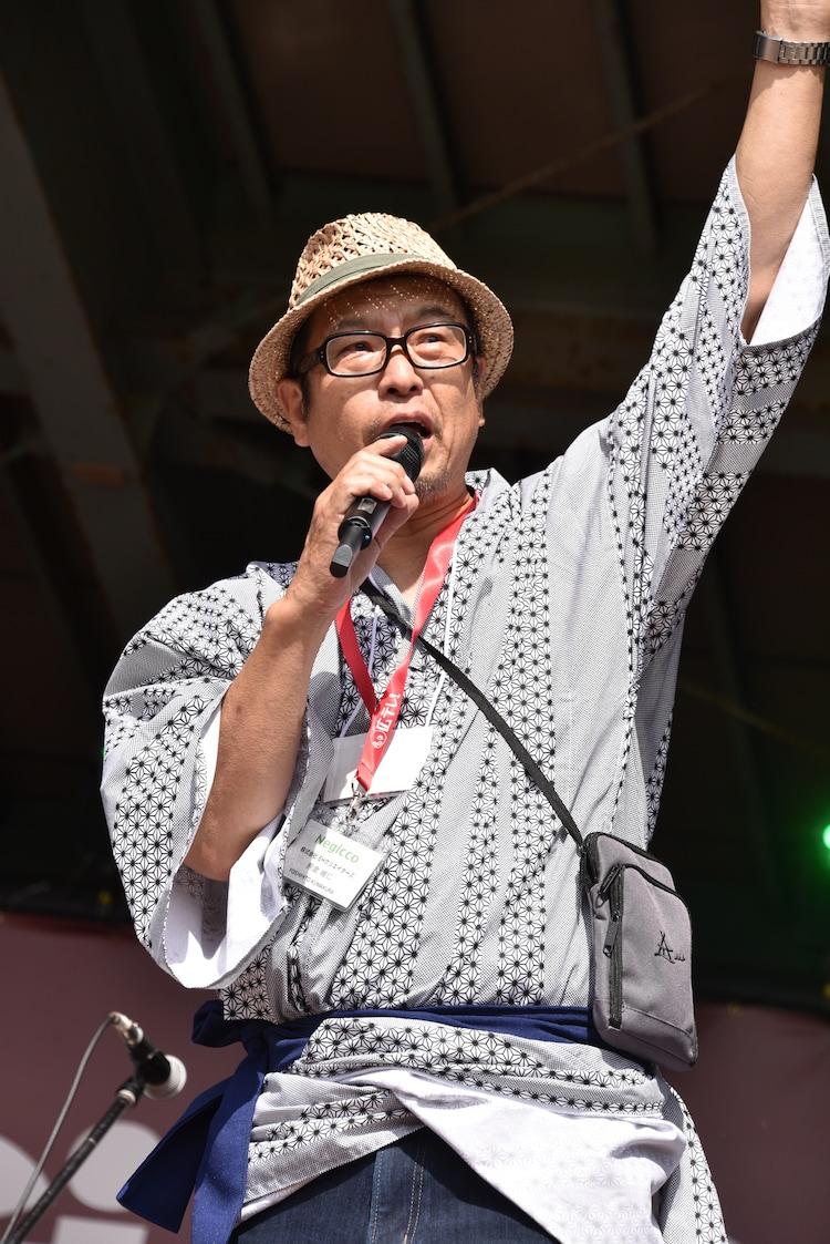 株式会社EHクリエイターズの代表取締役社長・熊倉維仁氏。