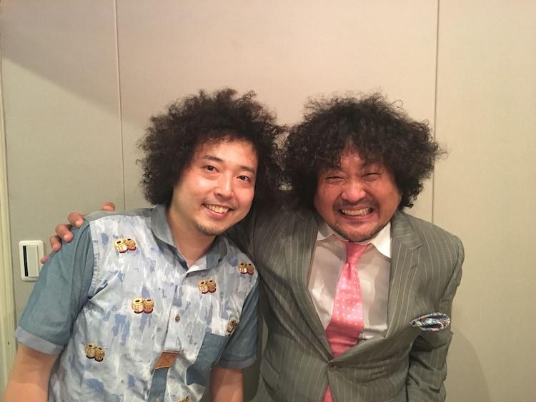 U-zhaanと葉加瀬太郎。