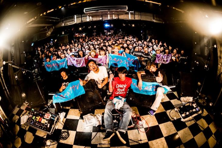 パノラマパナマタウン「Goodbye Chaos Tour」の様子。(撮影:浜野カズシ)