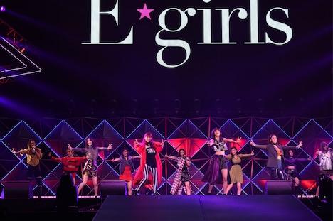 E-girls (c)テレビ朝日 ドリームフェスティバル 2017 / 写真:岸田哲平