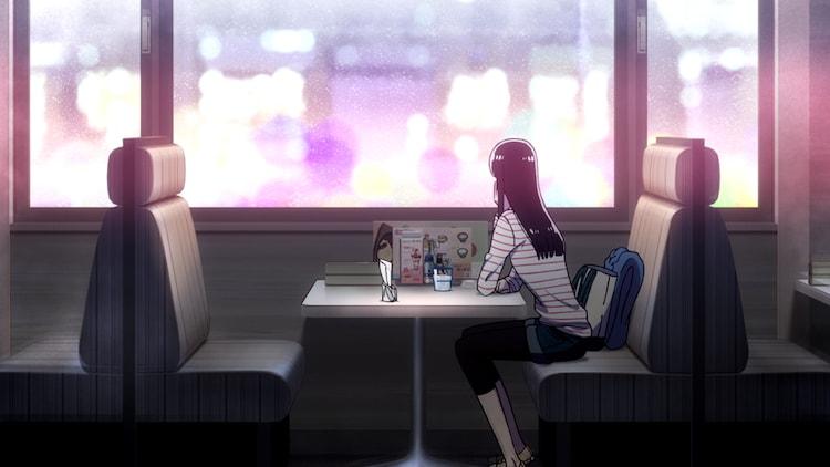 「恋は雨上がりのように」PVのワンシーン。(c)眉月じゅん・小学館/アニメ「恋雨」製作委員会