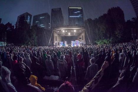 「THA BLUE HERB 結成20周年ライブ」の様子。(Photo by HayachiN)